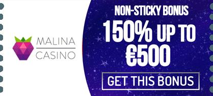 malina-non-sticky-bonus.png